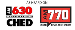 AM630 CHED - AM770 CHQR